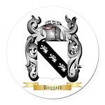 Haggard Round Car Magnet