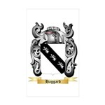Haggard Sticker (Rectangle 50 pk)