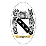 Haggard Sticker (Oval 10 pk)