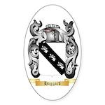 Haggard Sticker (Oval 50 pk)