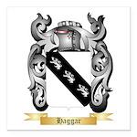 Haggar Square Car Magnet 3