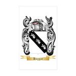 Haggar Sticker (Rectangle 50 pk)