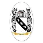 Haggar Sticker (Oval)