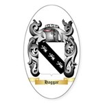 Haggar Sticker (Oval 50 pk)