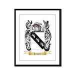 Haggar Framed Panel Print