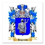 Hagenow Square Car Magnet 3