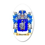 Hagenow 20x12 Oval Wall Decal