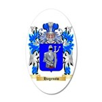 Hagenow 35x21 Oval Wall Decal
