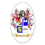 Hagen Sticker (Oval 50 pk)