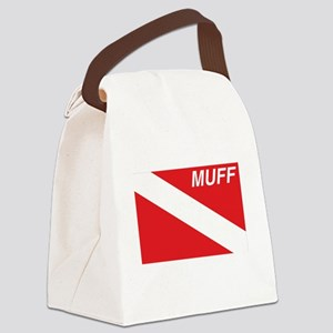 Muff Diver Canvas Lunch Bag