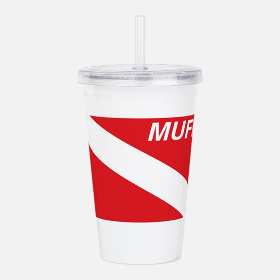 Muff Diver Acrylic Double-wall Tumbler