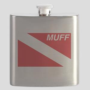 Muff Diver Flask