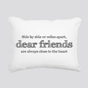 Close to the heart Rectangular Canvas Pillow