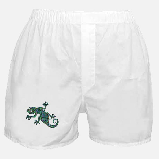 Decorative Chameleon Boxer Shorts