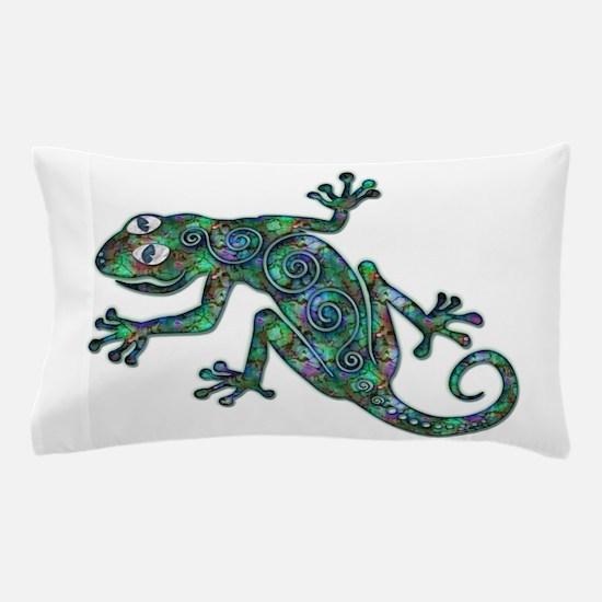 Decorative Chameleon Pillow Case