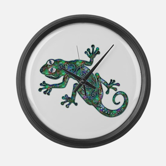 Decorative Chameleon Large Wall Clock