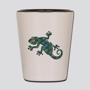 Decorative Chameleon Shot Glass