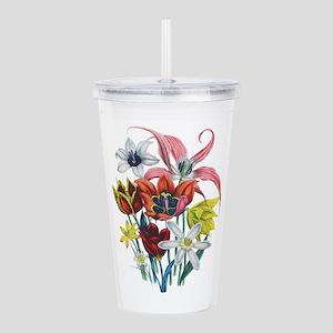 Tulips and Daffodils b Acrylic Double-wall Tumbler