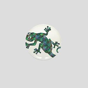 Decorative Chameleon Mini Button