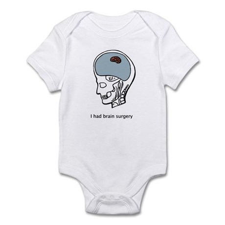 I had brain surgery Infant Bodysuit