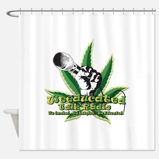 We_Logo1 Shower Curtain