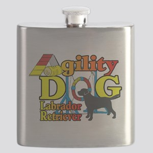 Labrador Retriever Agility Flask