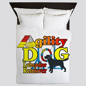 Labrador Retriever Agility Queen Duvet