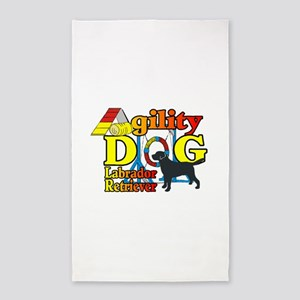 Labrador Retriever Agility Area Rug