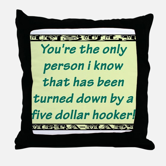 Youre The Only Person I Know Throw Pillow