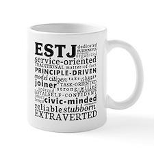 ESTJ Supervisor Myers-Briggs Personality Mugs