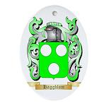 Haggblom Ornament (Oval)