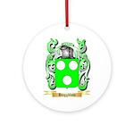 Haggblom Ornament (Round)
