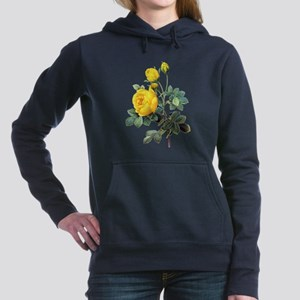 Redoute Roses011 Women's Hooded Sweatshirt