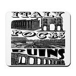 Italy Rocks Ruins Mousepad