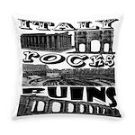 Italy Rocks Ruins Everyday Pillow