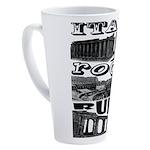 Italy Rocks Ruins 17 oz Latte Mug