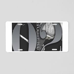 Couture Aluminum License Plate