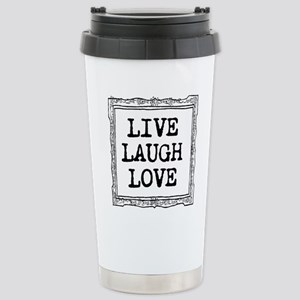 Inspirational Live Stainless Steel Travel Mug