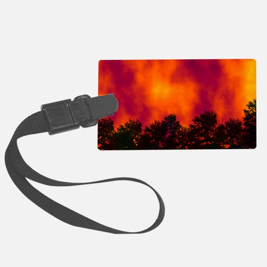 Wildfire Luggage Tag