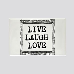 Inspirational Quote Live Laugh Love Magnets