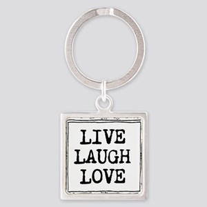Live laugh love Keychains