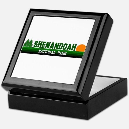 Shenandoah National Park Keepsake Box
