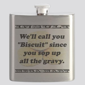 Well Call You Biscuit Flask