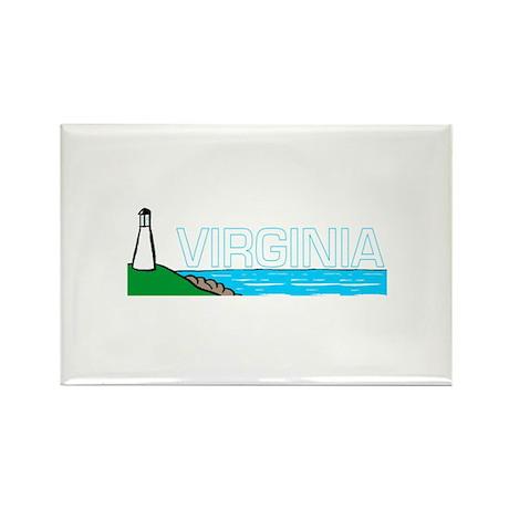 Virginia Rectangle Magnet (10 pack)
