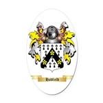 Hadfield Oval Car Magnet