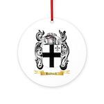 Haddock Ornament (Round)