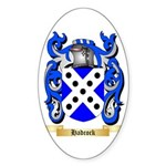 Hadcock Sticker (Oval 10 pk)