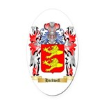 Hackwell Oval Car Magnet