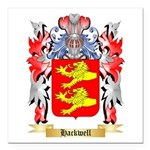 Hackwell Square Car Magnet 3