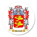 Hackwell Round Car Magnet
